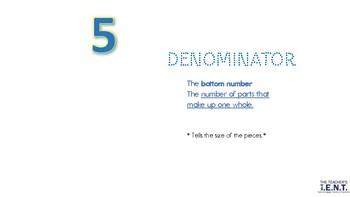 Numerator_denominator chant