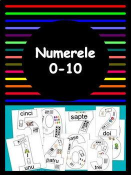 Numerele 0 - 10 -  limba romana