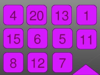 Numeri (Numbers in Italian) PowerPoint