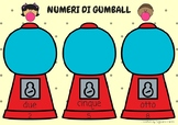Numeri di gumball (Italian number game 1-10)