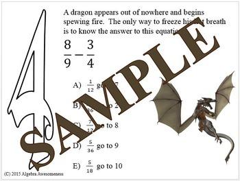 NumeriQuest Fraction BUNDLE
