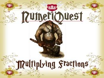 NumeriQuest Multiplying Fractions