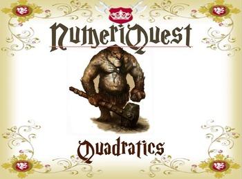NumeriQuest Quadratics