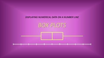 Numeric Data: Box Plots