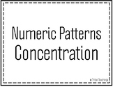 Numeric Pattern Concentration