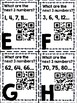 Numeric Patterns QR Codes-Skip Counting