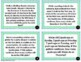 Numerical Patterns - Word Problems - Grades 3-5 Task Cards *Editable*