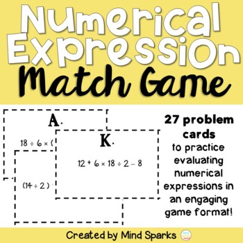 Numerical Expression Match Up