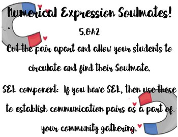 Numerical Expression Soulmates