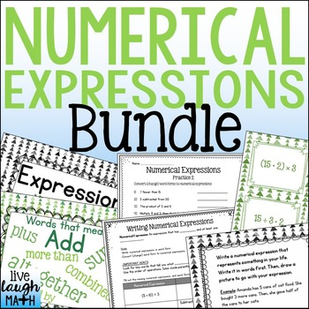 Numerical Expressions BUNDLE