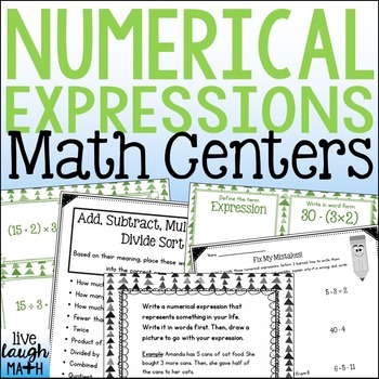 Numerical Expressions Sorts & Activities