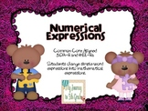 Numerical Expressions Task Cards~ CCSS aligned