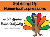 Numerical Expressions Turkey FREEBIE