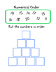 22 Numerical Order Printables