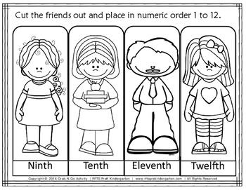 Numerical Order (Grab-n-Go)
