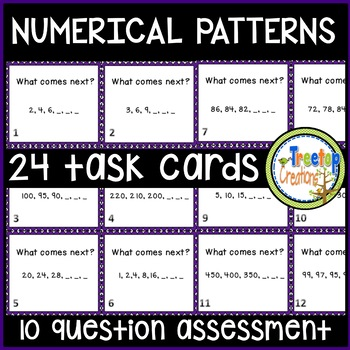 Numerical Patterns
