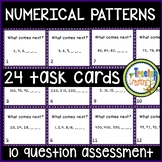 Numerical Patterns Task Cards 4th grade