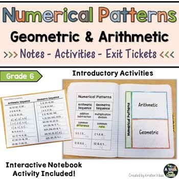 Numerical Patterns - Arithmetic and Geometric