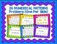 Numerical Patterns Digital Task Cards Google Version