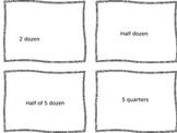Numerical fluency cards