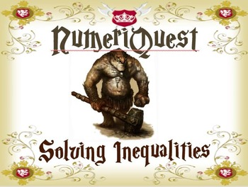 Numeriquest Solving Linear Inequalities