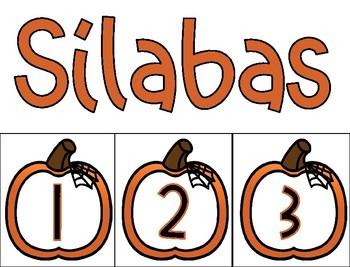 Número de sílabas