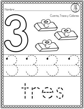 Números 0-10 Español
