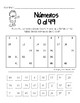 Números 0 al 99 (Hojas de trabajo) | Spanish Numbers from 0 to 99 (Worksheets)