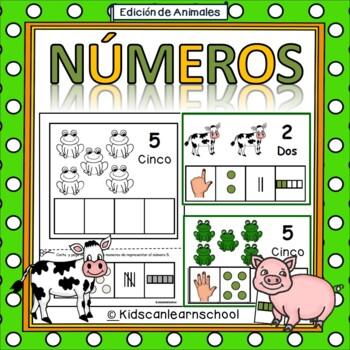 Numeros 1-10- Edicion de animales