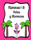 Números 1-31: Piñas y Flamencos