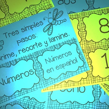 Números 0 al 100 - Palabras y Forma Usual {Numbers 0 to 100 - Spanish}