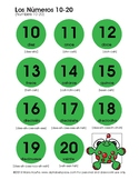 Numeros 10-20 Chart