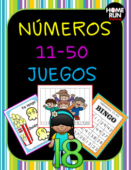 Números 11-50 Juegos