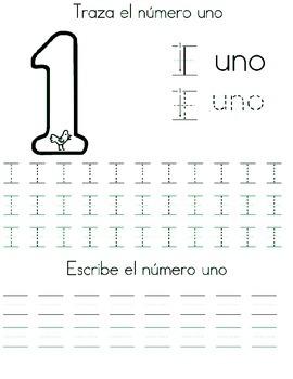 Numeros Español