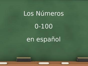 Números Numbers PPT 0-100