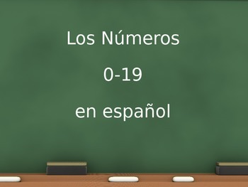 Números Numbers PPT 0-19