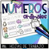 Números Ordinales Ordinal Numbers in Spanish
