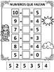 Numeros Que Faltan- Matematicas- Missing Numbers