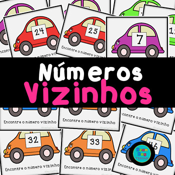 Números Vizinhos | Numbers Before and After in Portuguese