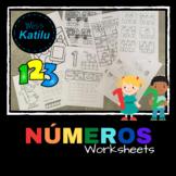 Números -  actividades