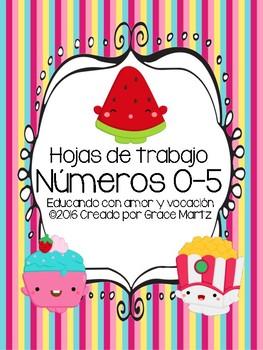 Números del 0-5