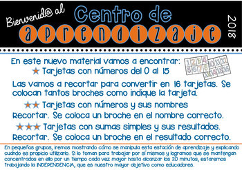Números del 0 al 15 - Español - Spanish -