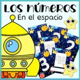 Tarjetas números del 1 al 100 en español | Tema del espacio | PDF