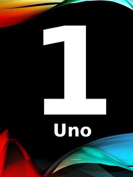 Slideshow Numeros  1 - 100 - Numbers 1 - 100 - Spanish