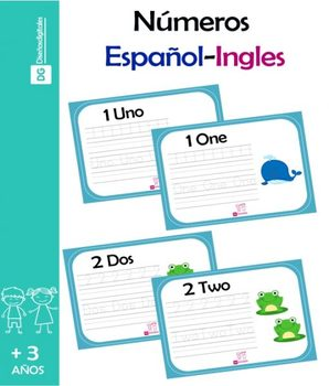 Numeros en Español e Ingles del 1 al 20