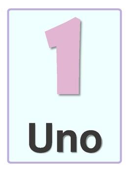 Números en español / Spanish numbers