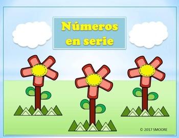 Números en serie- Skip Counting Spanish
