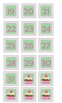 Números para Calendario