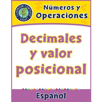 Números y Operaciones: Decimales y valor posicional Gr. PK-2