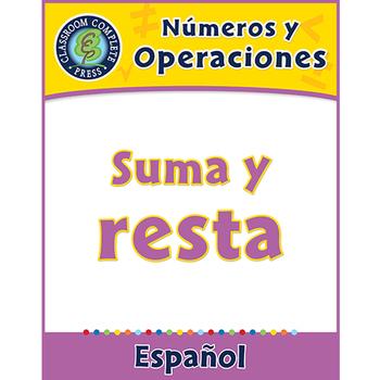 Números y Operaciones: Suma y resta Gr. PK-2